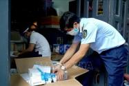 Thu giữ số lượng lớn thuốc tân dược nhập lậu, được quảng cáo để điều trị Covid-19