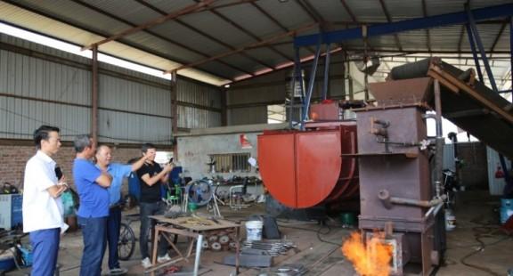 Lò đốt rác thải không khói của Kĩ sư Lê Hồng Chương