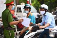 Hà Nội: Giấy đi đường phải được UBND phường xác nhận