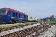Lần đầu tiên đường sắt có tàu container chạy thẳng từ Việt Nam sang Bỉ